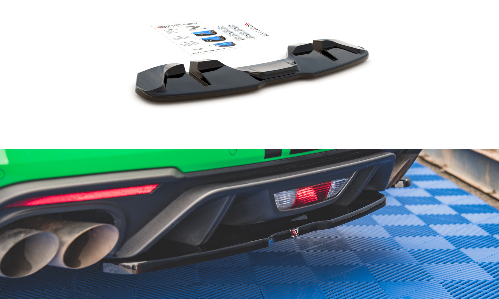SPLITTER TYLNY ŚRODKOWY FORD MUSTANG GT MK6 FACELIFT - GRUBYGARAGE - Sklep Tuningowy
